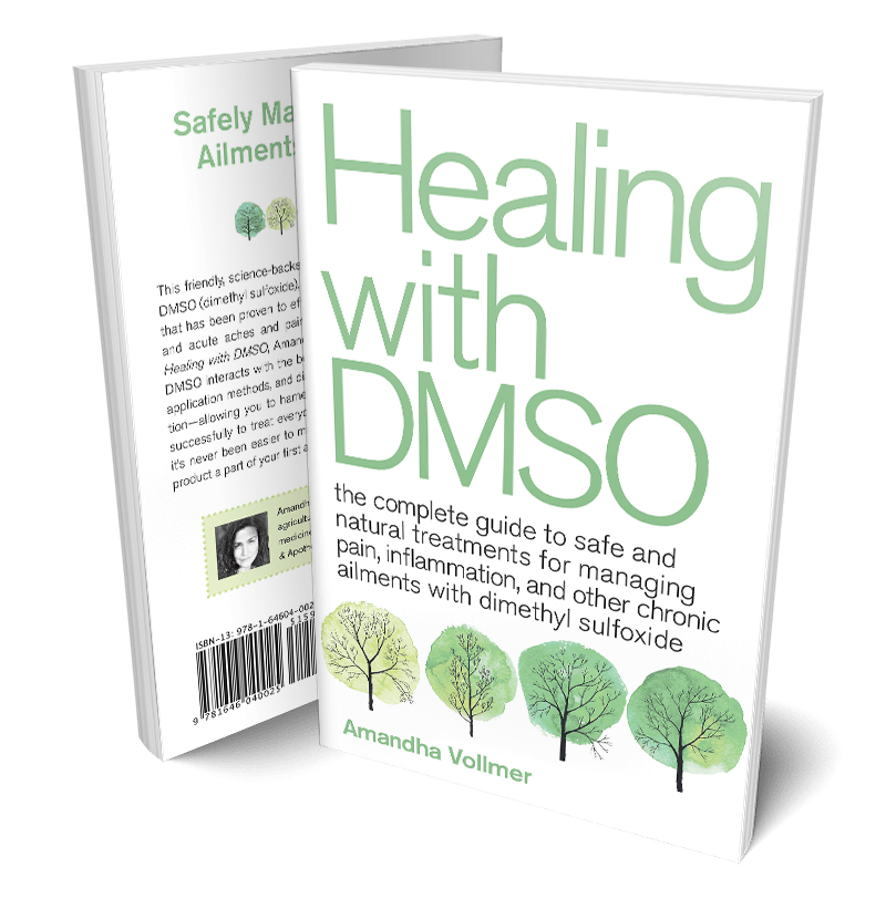Healing with DMSO Book by Amandha Vollmer from YumNaturals