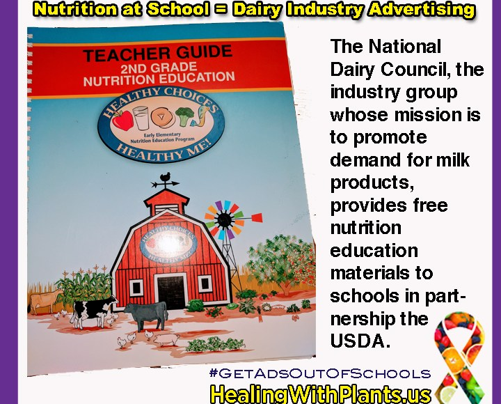 How the Dairy Industry Disguises Advertising as School Nutrition Education