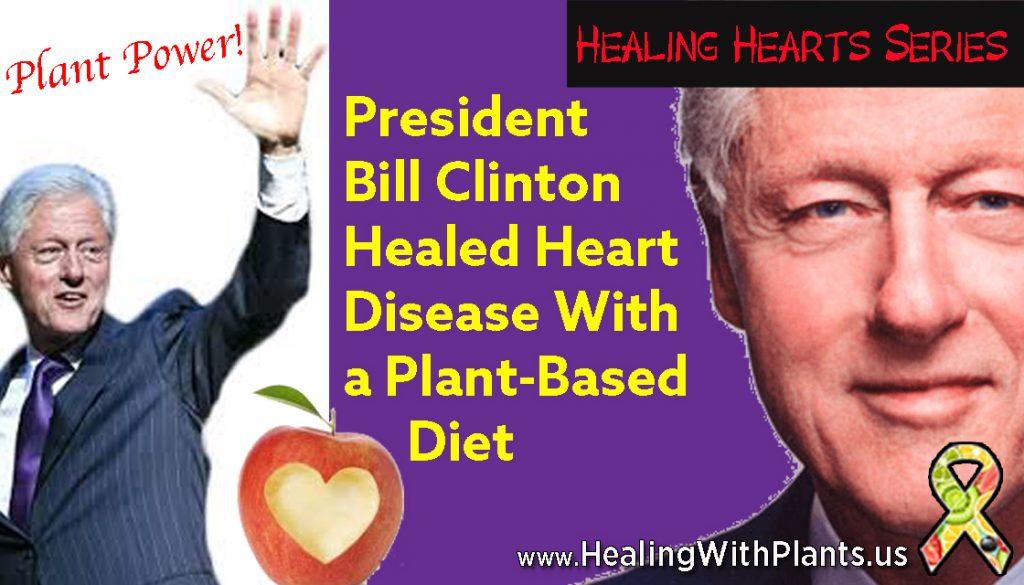 healing heart disease president clinton