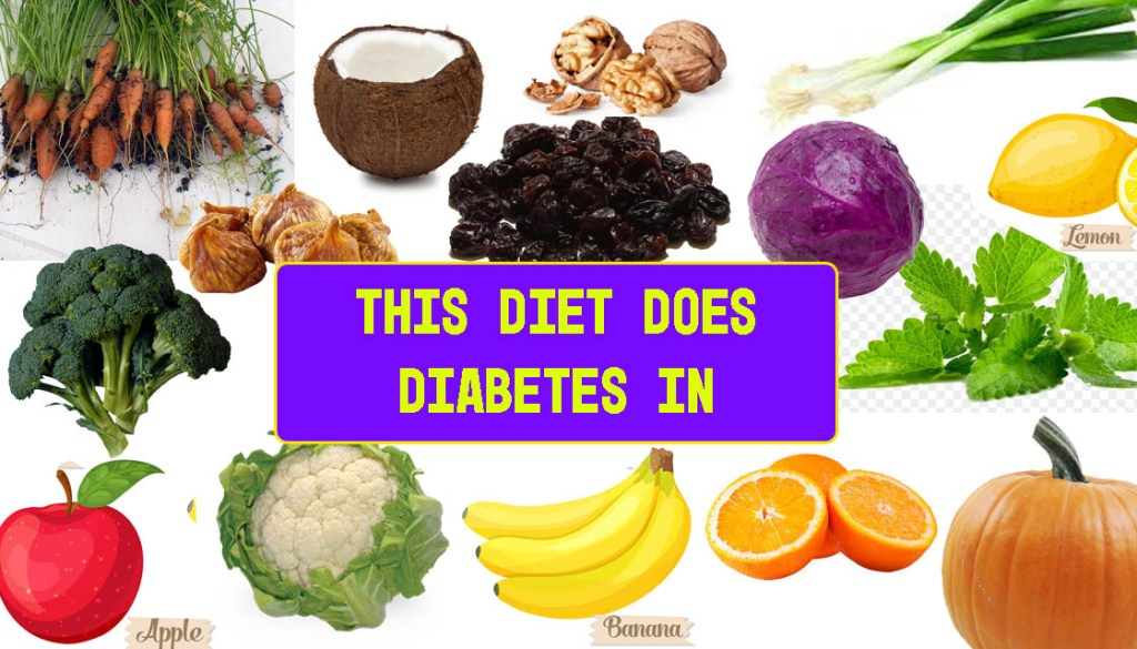Reverse diabetes with a plant-based diet