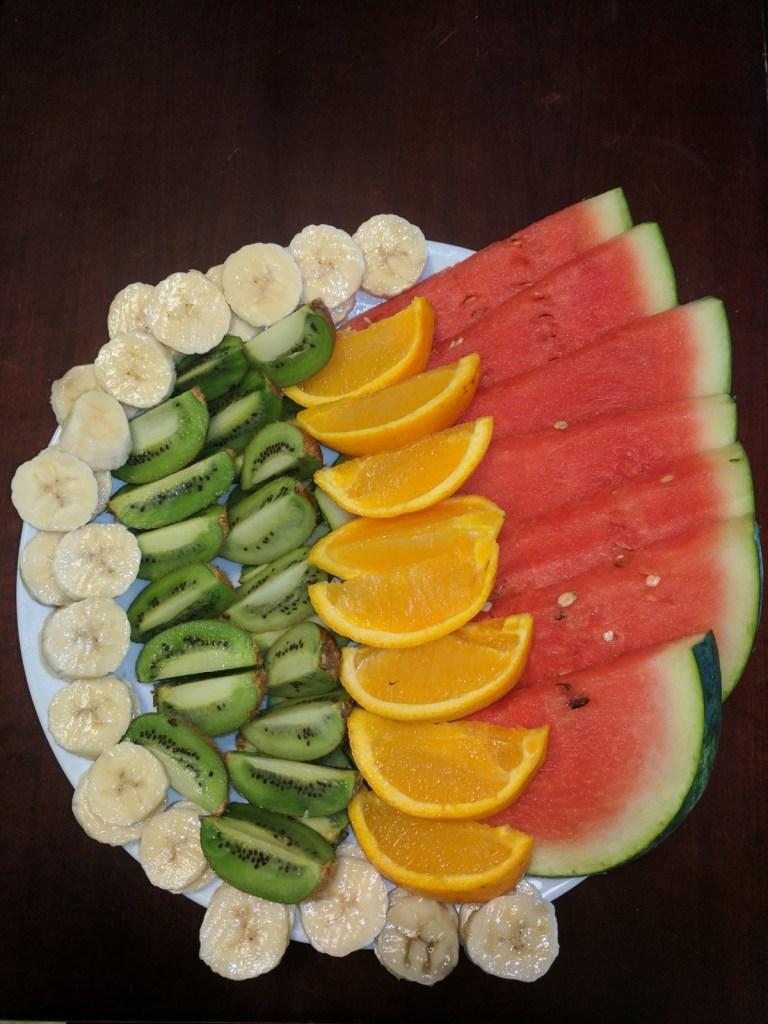 Ways to Eat Watermelon: fruit platter