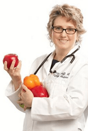 Dr. Kerry Graff healed with a whole-food, plant-based diet
