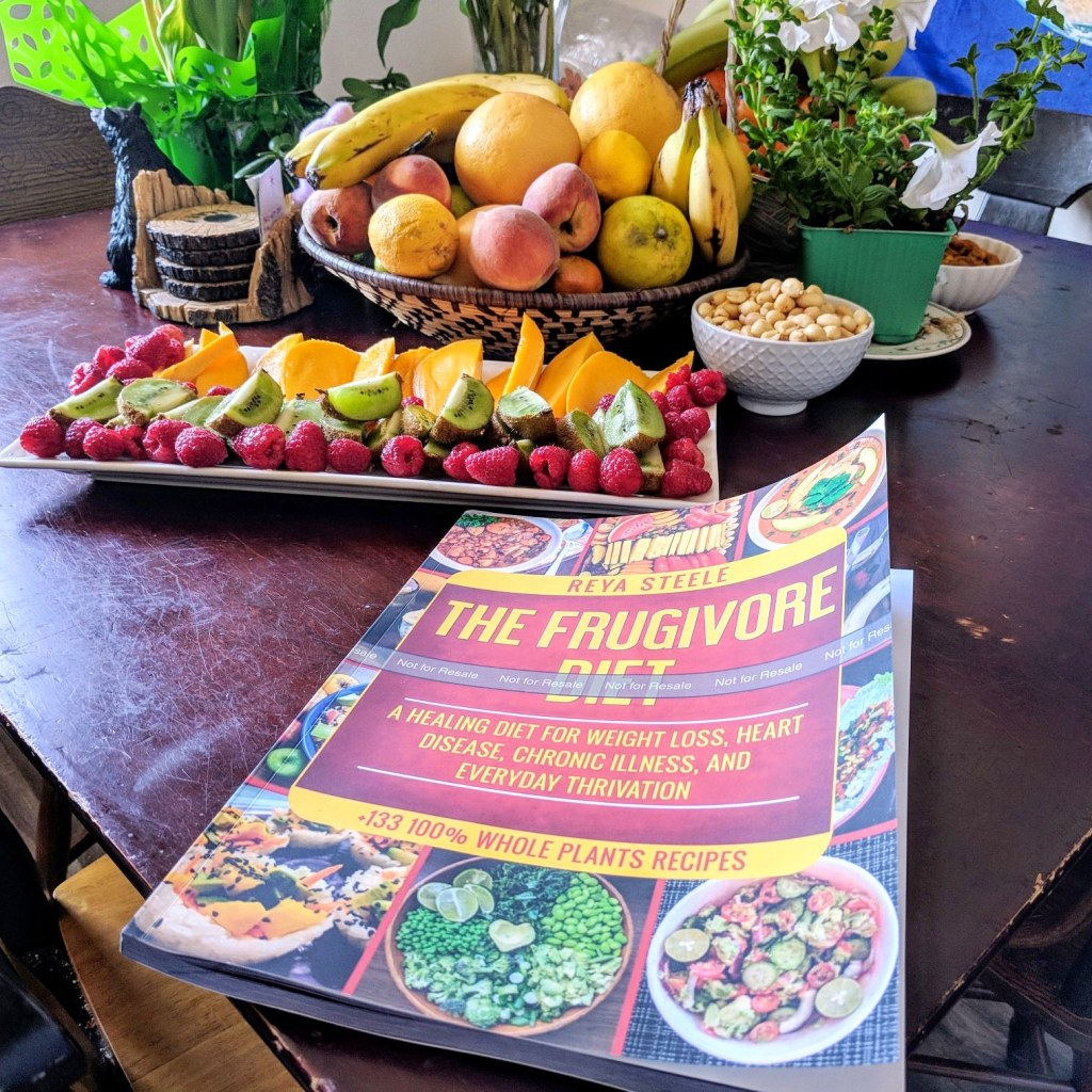 The Frugivore Diet recipe book is now available.