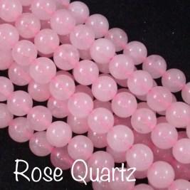 Rose Quartz: Love, Healing, Forgiveness, Inner Peace, Purity