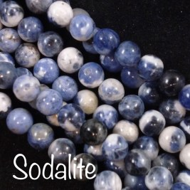 Sodalite: Self-esteem, New Vision, Truthful, Calming, Intuition