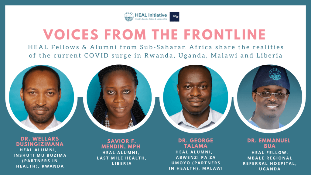 Frontline health workers from Sub-Saharan Africa share the reality of the current COVID surge