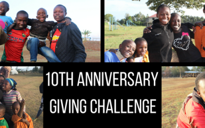 10th Anniversary Giving Challenge