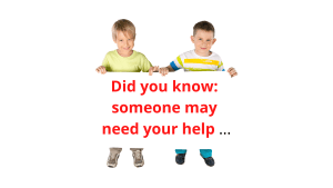 Did you know: someone may need your help ...