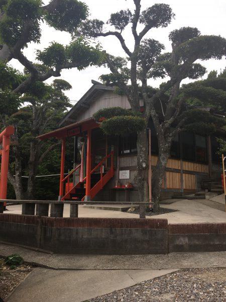 荒熊神社、御本殿