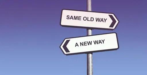 Neue Wege gehen