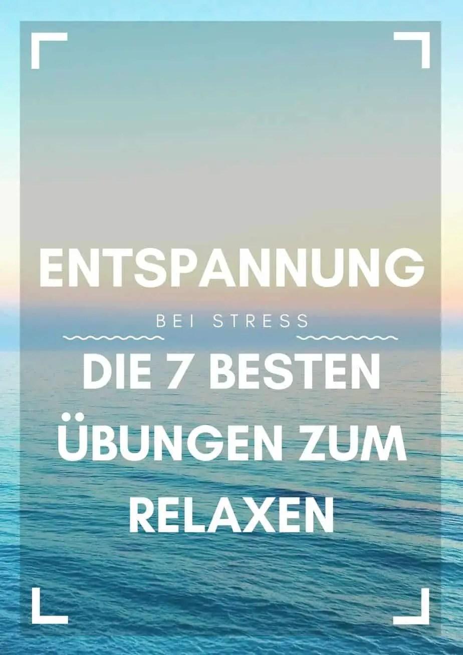 Entspannungsübungen bei Stress