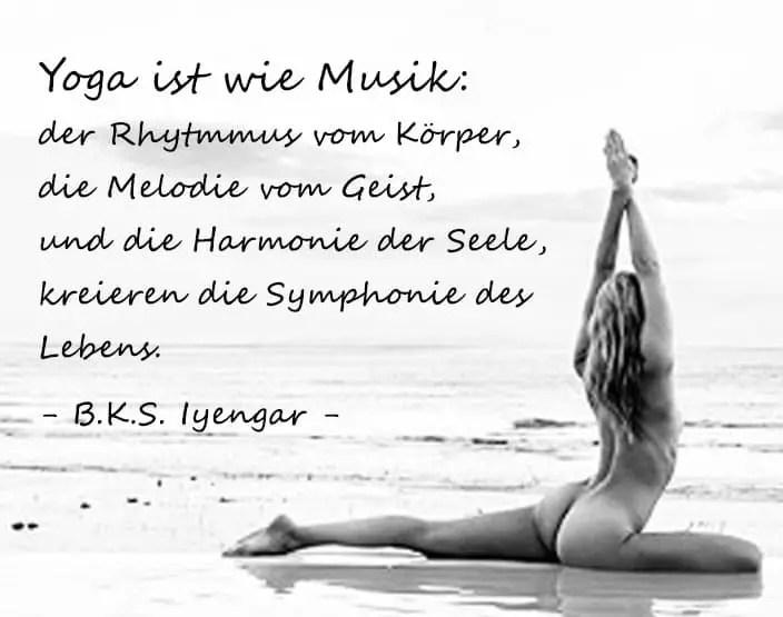 Nacktyoga Yoga ohne Kleider