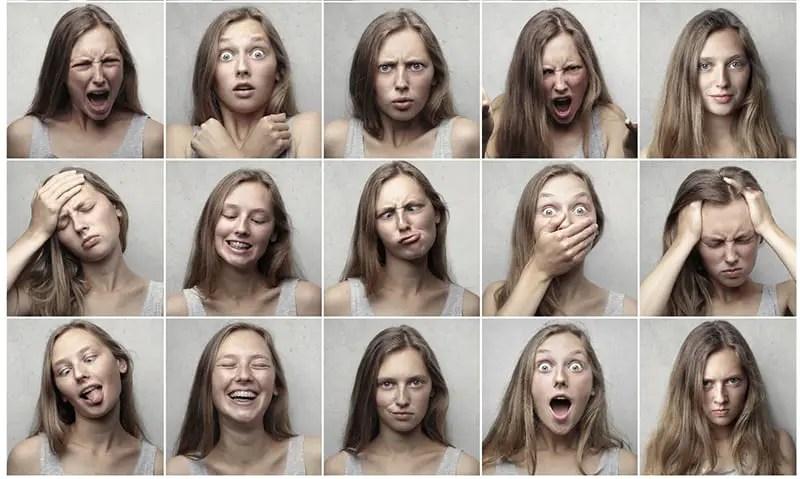 Emotionen Gefühle Liste