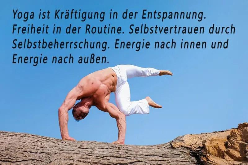Yoga Spruch Zitat
