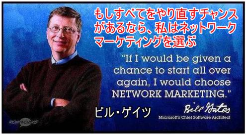 ビル・ゲイツの考え