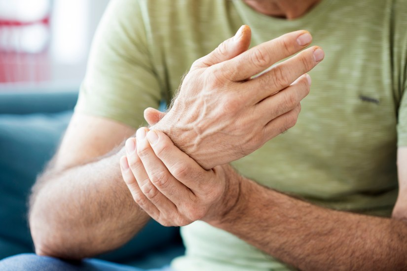 Back of Hand and Wrist Pain