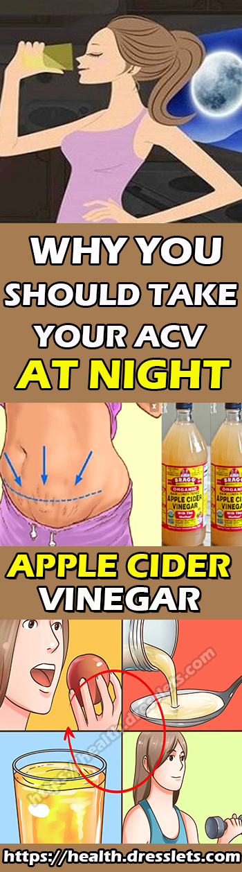 WHY YOU SHOULD TAKE YOUR ACV AT NIGHT