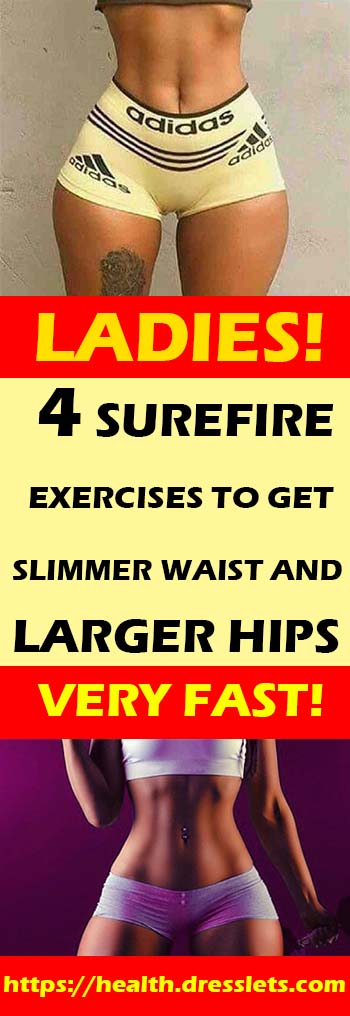 How to get a thin waist quick