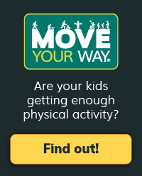 Move Your Way link: Are your kids getting enough physical activity? Find out!