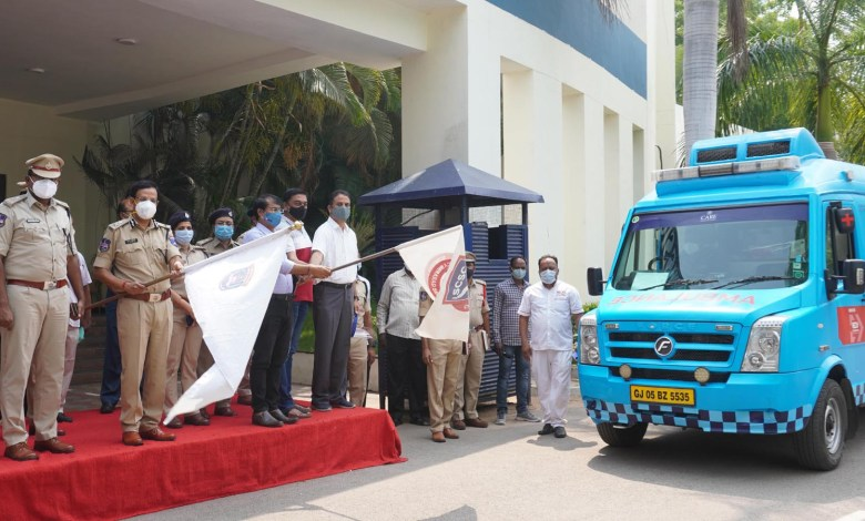Cyberabad Police, SCSC and their COVID Control Room raises to occasion again, presses the services of 12 ambulances, to provide 24x7 free of cost services for the needy people in the city