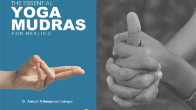 A Book on Yoga Mudras released as an attempt to bring the Science of Yoga to common people
