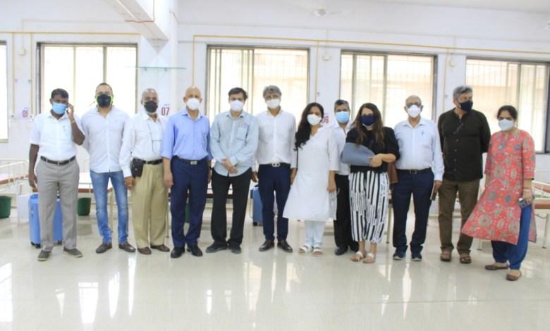 Ritambhara Vishva Vidyapeeth sets up Oxygen Covid Beds supported by Big B