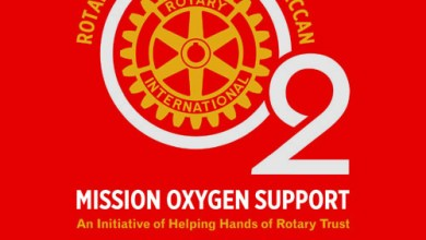 """Rotary's """"Mission Oxygen Support"""" provides 70 Personal Oxygen Concentrators, including 40 to rural areas in both the Telugu States for Free Use"""
