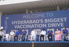The biggest ever vaccination drive organised on a single day anywhere in the world