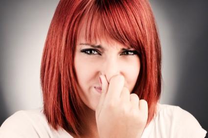keputihan bau
