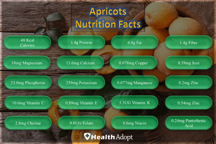 Apricot Nutrition Facts And Nutrients