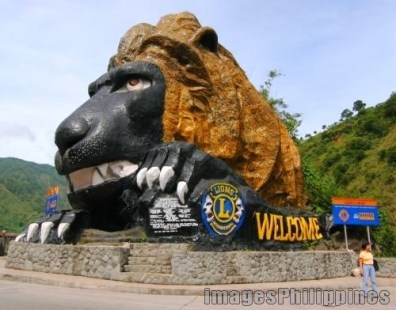 Lion's Head, Welcome to Baguio City