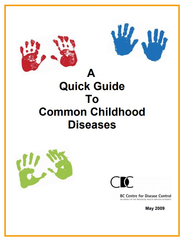Guide to Childhood communicable diseases