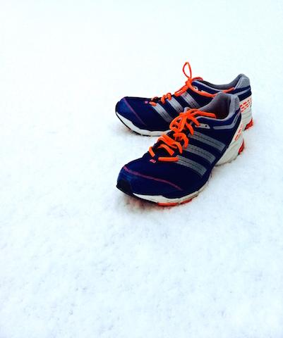 Joggen im Winter diese Laufschuhe passen auch bei Schnee