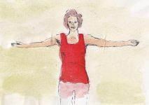 Nackenschmerzen was tun? Unsere vier Uebungen gegen Verspannungen