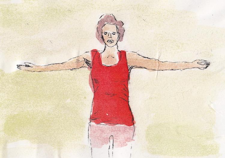 Nackenschmerzen, was tun? Unsere vier Uebungen gegen Verspannungen