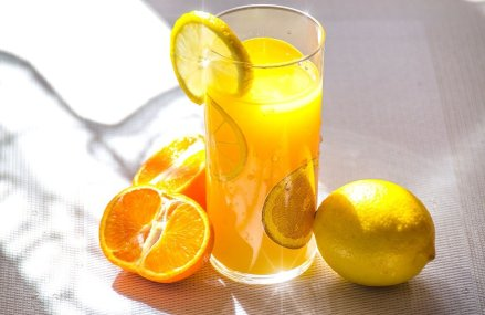 A Glass of Citrus Juice Everyday