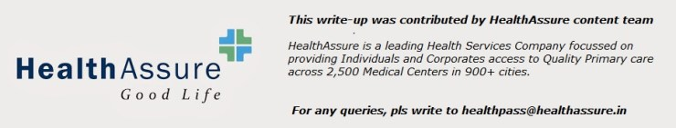 Logo Health Assure Content team footnote