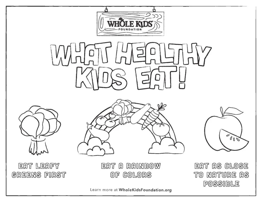 9 Free Nutrition Worksheets For Kids