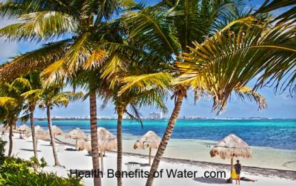 Sunny beach, Cancun