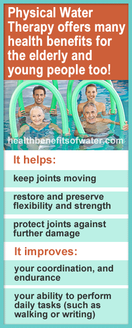 Water Therapy Infographic
