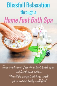 Foot bath spa