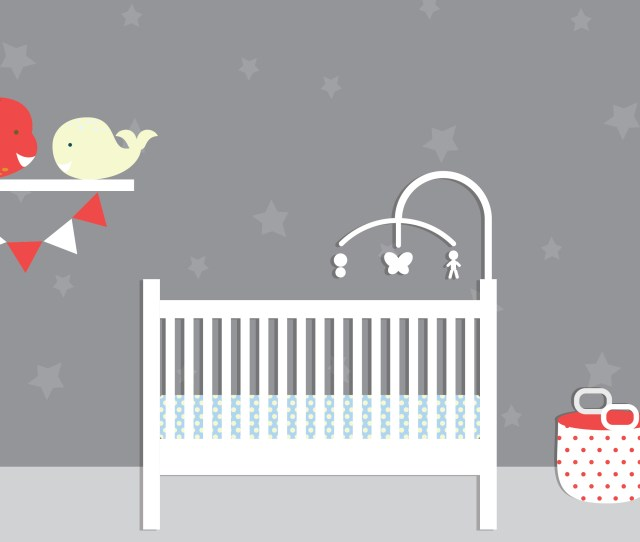 A Babies Room With A Safe Crib Sleep Positioners And Sleep Wedges Are