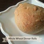 Whole Wheat Dinner Rolls www.thatswhatieat.com