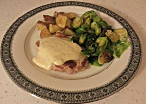 Pork with mustard cream sauce www.thatswhatieat.com