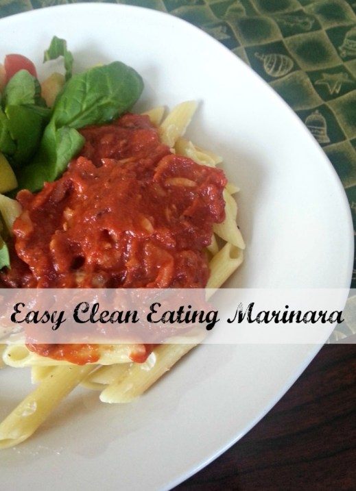 Easy Clean Eating Marinara