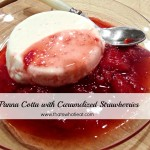 Panna Cotta with Caramelized Strawberries