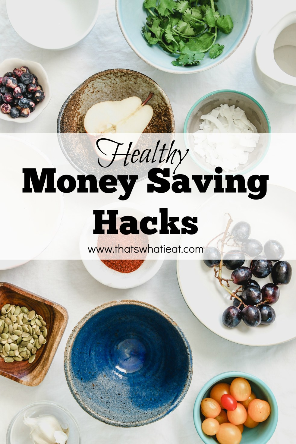 Healthy Money Savings Hacks