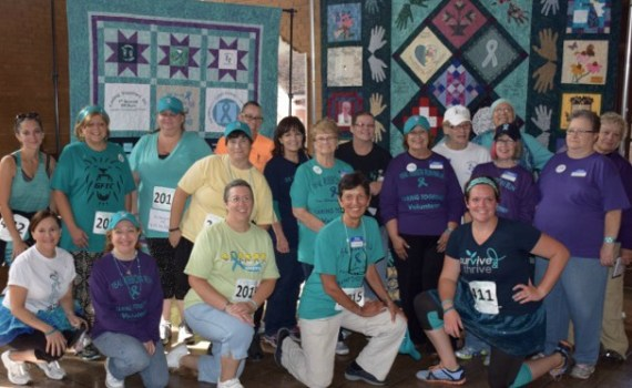 Teal Ribbon Run Walk