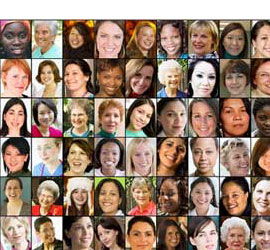 faces of women