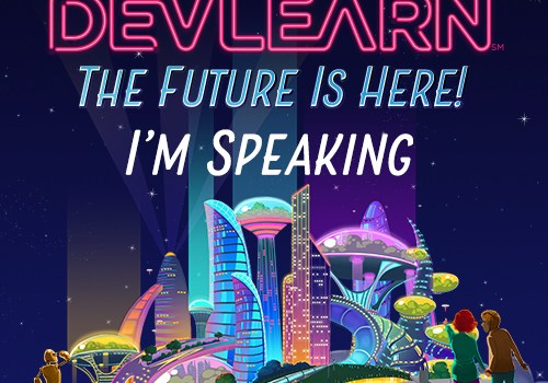 Image of DevLearn 2017 speaker badge